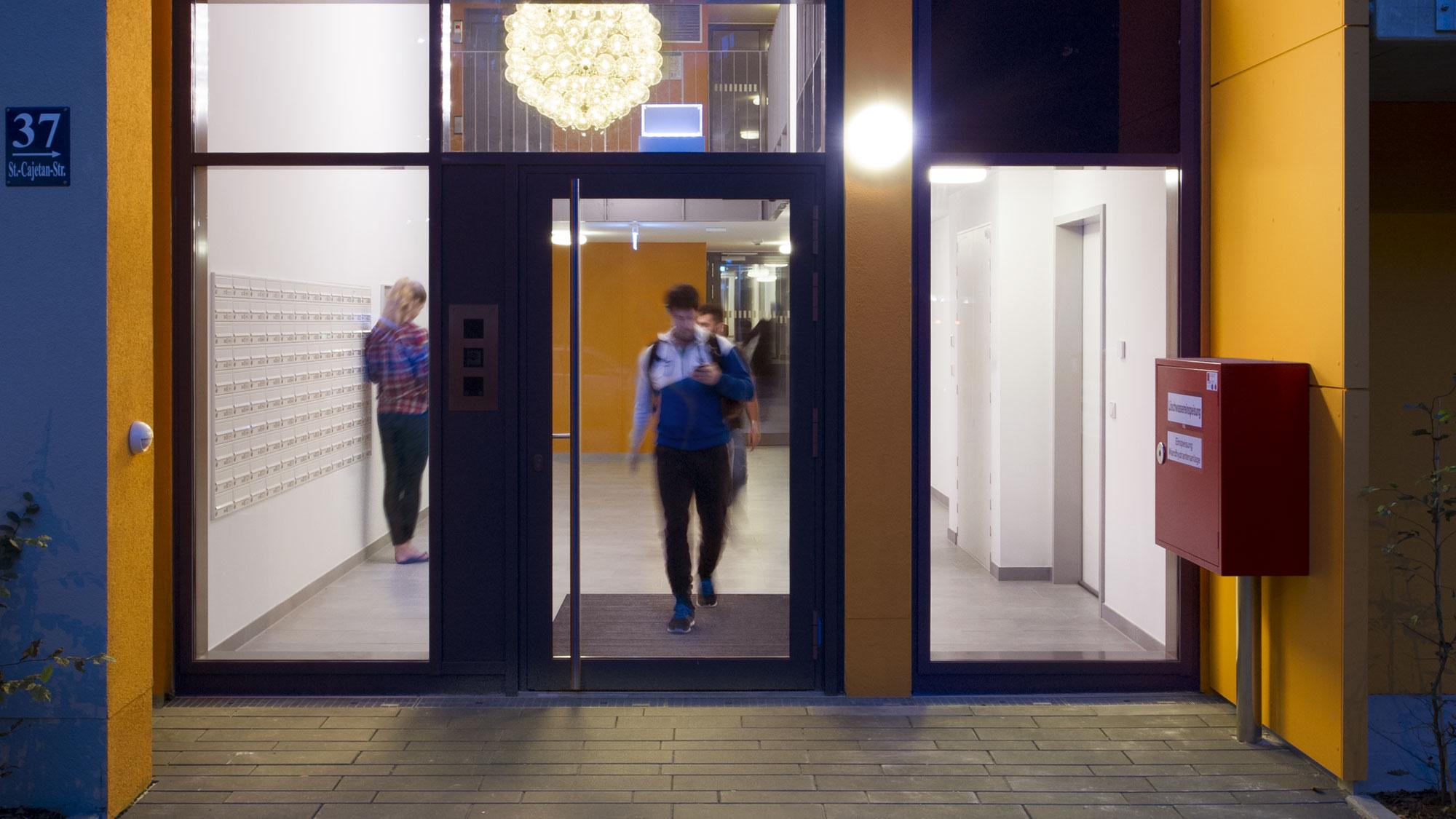 studiosus-4: Eingangsbereich