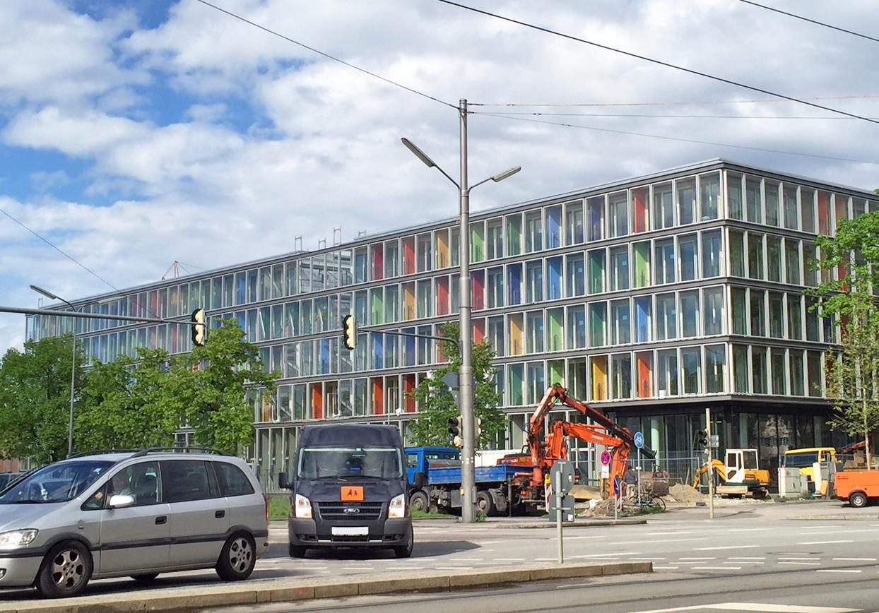 studiomuc Service-Apartments in München-Schwabing kurz vor der Fertigstellung