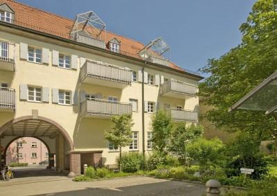 """Sanierung Wohnanlage """"Alte Post"""", Straubing"""
