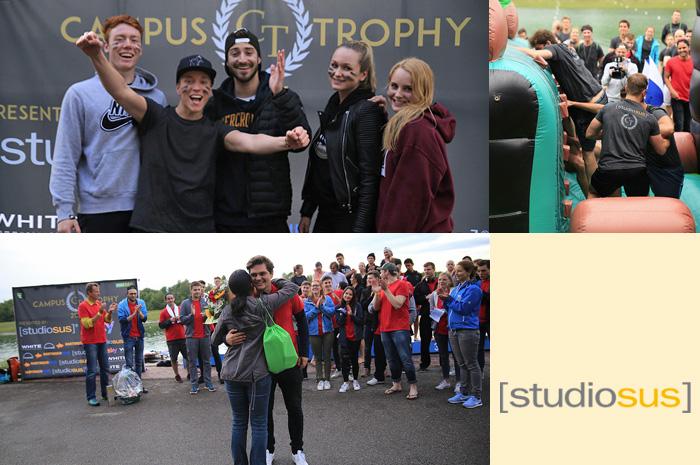 Studenten und Auszubildende bei der Campus Trophy 2016 - presented by studiosus